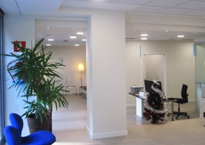 Clínica dental, interior