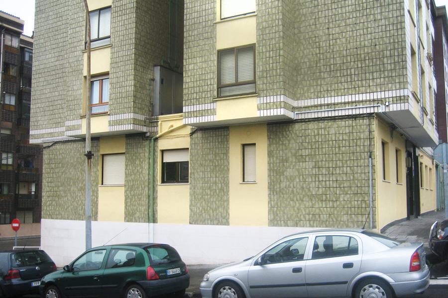 Fachada viviendas