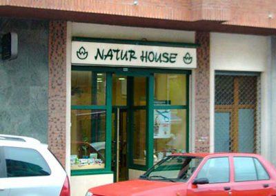 Dietética Natur House, fachada