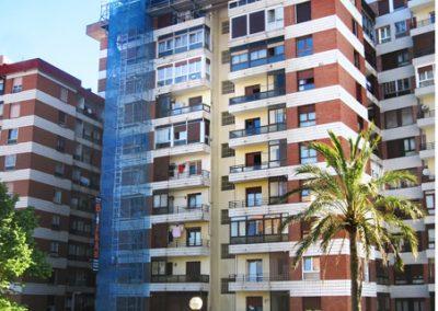 Fachada, c/ Consulado de Bilbao