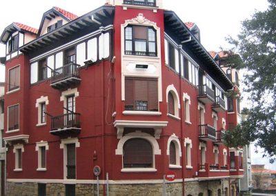 Edificio antiguo, frente
