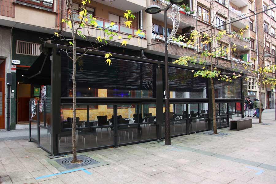 Terraza bar Sorgiñe